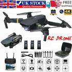EACHINE E58 WIFI FPV 4K HD Camera Foldable RC Drone Quadcopter Batteries Selfie