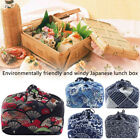 Drawstring Office Thermal Insulated Bento Pouch Food Storage Picnic Lunch Bag