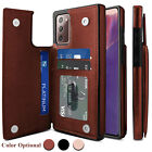 For Samsung Galaxy Note 20 Ultra 5G Case Luxury Leather Card Wallet Stand Cover