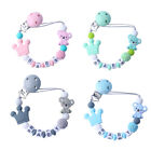 Personalized Name Baby Pacifier Clips Koala Pacifier Chain Holder Dummy Clips