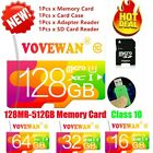 TF Card 512GB-8GB Micro SD Card Class10 UHS-1 Flash Memory Card For Tablet MP3