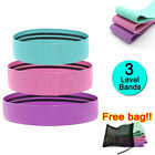 Resistance Booty Bands Set-3 Hip Circle Loop Gym Workout Exercise Non Slip