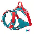 Pull Dog Harness Vest Nylon Reflective Soft Pet Harness Dog For Small Big Dogs R