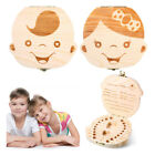 Solid Wood Baby Teeth Changing Commemorative Box  Storing Baby Tooth Box