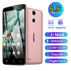 "Ulefone 5.5"" 16gb Android Smartphone Dual Sim 4g Mobile Smart Phone Unlocked Us"