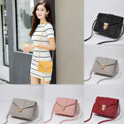Casual Candy Color Shoulder Bag Pu Leather Small Square Pack Wallet Handbag