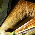 Christmas Light Outdoor Decoration 5meter Led Bulb Curtain Icicle String Garland
