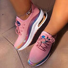 Women Lace Up Breathable Trainers Sports Running Gym Sneakers Walking Shoes