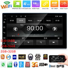 """7"""" Android Car Stereo GPS Navi MP5 Player Double 2Din WiFi Quad Core Radio FM BT"""
