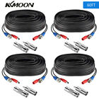 60ft Power Video Security Camera BNC Cable CCTV Wire Cord Extension Connector