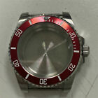 40mm Sapphire Glass Steel Bezel Watch Case Fit For NH35 NH36 Automatic Movement