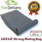 Grey Mailing Bags 12X16