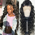 13x6 Lace Front Human Hair Wigs Indian Virgin Real Hair Full Wigs Pre Plucked AW