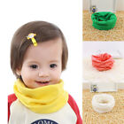 Kids Breathable Cotton Winter Warm Girl Boy Toddler Candy Colors Scarf Knit Baby