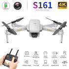 S161 Mini Pro Drone w/Camera 4K Gesture Photos Track Flight RC Quadcopter G8L5
