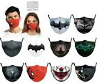 3d Print Funny Face Mask0 Protective Covering Washable Reusable Adult Unisex Mas