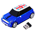 2.4G Wireless USB BMW Mini Cooper car Mouse optical mice for PC Laptop Gift US