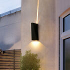 Up/Down Lamp 6W Outdoor LED COB Wall Fixture Light Waterproof Balcony Gate Yard