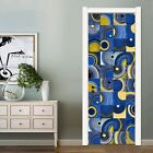 New Door / Wall Stickers Abstract Art Decals Mural Home Bedroom Decoration Pvc