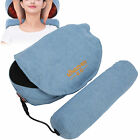 Electric Massage Pillow Neck Back Moxa Massager Cushion Heat Car Home Use