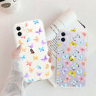 Butterfly Phone Case For iPhone 11 Pro Max Clear TPU Soft Protective Back Case