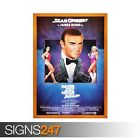 NEVER SAY NEVER AGAIN SEAN CONNERY 007 (ZZ090) MOVIE POSTER Poster A0 A1 A2 A3