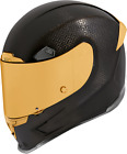 ICON Airframe Pro Carbon Motorcycle Helmet BLACK CARBON GOLD