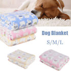 Pets Cat Dog Bed Mattress Puppy Winter Kennel Fleece Fluffy Blanket Sleeping Mat