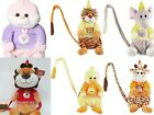 Kids Toddler Safety Anti Lost Harness Leash Walk Keeper Plush Backpack Baby Toy