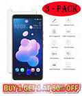 3-Packs Tempered Glass Screen Protector For HTC U12 U11 M10 M9 A9 530 626 Plus