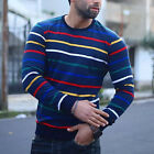 Mens Knitted Roll Turtle Neck Pullover Jumper Wool Warm Slim Fit Sweater Tops