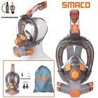 SMACO Anti-Fog Full Face Scuba Mask Snorkel Swimming Diving Underwater For GoPro
