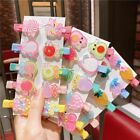 Cute Baby Girl Children Lovely Fruit Hairpin Hair Clips Girls Hair Accessories