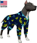 LovinPet Dog Clothing for Universal Large Dogs/Big Dinosaur in The Jungle Prints