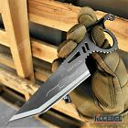 """7.5"""" Fixed Blade Survival Knife Spear Point Razor Sharp Tactical Knife"""