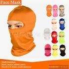 Outdoor Ski Motorcycle Balaclava Full Face Mask Neck Cover Ultra Thin Uv Protect