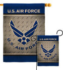US Air Force Burlap Garden Flag Armed Forces Small Gift Yard House Banner