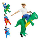 Inflatable Dinosaur Adult Kids Riding Costume Halloween Party Dress Cosplay Prop