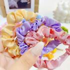 Women Cloth Hair Ring Gradient Elastic Rubber Band Hair Ties Hair Ring