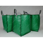 120L Garden Waste Bags - Heavy Duty Large Refuse Sacks with Handles