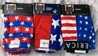 AMERICA American Eagle Outfitters Patriotic Boxer Shorts Medium Various Prints