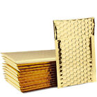 Gold Poly Bubble Mailers Bags Shipping Packing Business Padded Express Envelope