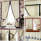 Claremont Pencil Pleat Lined Curtains (pair Of) Choice Of Colours & Accessories