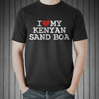 I LOVE MY KENYAN SAND BOA T-SHIRT - MEN'S & WOMEN'S DOG LOVER TSHIRTS