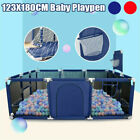 Baby Playpen Safety Play Yard Kid Toddler Activity Center Indoor Outdoor Playpen