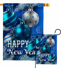 New Year Ornaments Garden Flag Winter Decorative Small Gift Yard House Banner