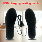 1pair Shoe Pad Outdoor Sports Winter Washable Ski Foot Warmer USB Heated Insoles