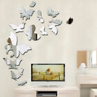 Mirror Butterfly Acrylic Removable Wall Sticker Decal Home Decoration Art Yi