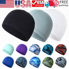 Ice Silk Moisture Wicking Helmet Liner Cap Cycling Running Beanie Hat Quick Dry