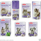 Beaphar Calming Spot On Treats Home Spray Collars Cats Dogs aid stress relief